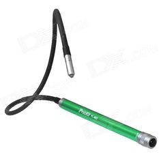 ProsKit FL-603 11000MCD LED White Light Soft Tube Snake Lamp - Black + Green (3 x AAA)
