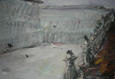 "Saatchi Art Artist Manlio Rondoni; Painting, ""Venezia Piazza S.Marco 1997"" #art"