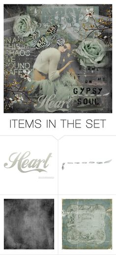 """""""Tell it to Her Gypsy Heart"""" by tattered-rose ❤ liked on Polyvore featuring art"""