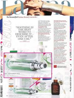 The beauty editors at Latina Magazine named Avon's ANEW Absolute Even Multi-Tone Skin Corrector an award winner in their Be Beautiful Latina Beauty Awards! Pick up the issue on newsstands now and visit our Pinterest page for all the latest buzz.