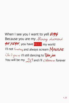 ♡akkinda♡... #OMG #shiningdiamond #ahyeah #Rock #fronting #mansae #whenigrowup #jamjam #20 #adoreu #seventeen #kpop