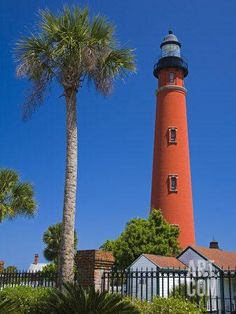 Ponce Inlet Lighthouse, Daytona Beach, Florida, United States of America, North America Photographic Print by Richard Cummins at Art.com