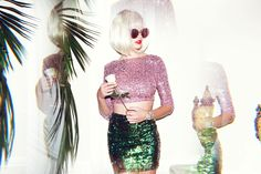 nye outfit, sequins, sequin skirt, planet blue lookbook, zoey grossman, dress the population
