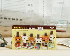 Lovely set of 6 wooden craft pegs featuring the cute Rilakkuma bear. Use them for card making or for hanging notes, displaying postcards, photographs etc. Cute little party bag or stocking filler gifts. Use them for card making or for hanging notes, displaying postcards, photographs etc. Craft Pegs range in size from 2.5cm to 3cm. Not... Read more »