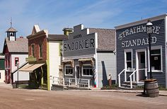 Take a step back in time as you browse the main drag at Calgary's Heritage Park (Photo: MarilynJane). Calgary AB.