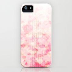 Subtle Pink Camo iPhone Case