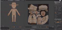Blender Character Creation - Texturing 03