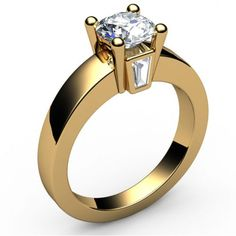 Buy Solitaire taper Diamond Engagement Ring (1.20 ct. tw.)