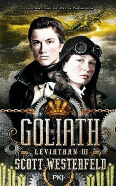 Léviathan, 3 : Goliath par Scott Westerfeld. Alek et Deryn sont parvenus à la dernière étape de leur tour du monde pour tenter de mettre fin à la Première Guerre mondiale. Alek doit désormais récupérer le trône de Prince d'Autriche. Mais leur vaisseau, le Léviathan, les contraint à faire un détour imprévu qui les éloigne de la guerre et de la couronne….