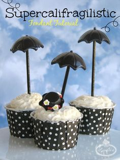 Fondant Umbrella Tutorial - Foto cubierta en craftsy