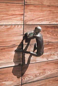 annajungdesign:  Door Pull - Hand Forged Fine Art - FADP90