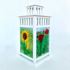 Small Lanterns, White Lanterns, Metal Lanterns, Glass Lanterns, Apartment Warming Gifts, Glass Fusion Ideas, Flower Garden Design, Fire Glass