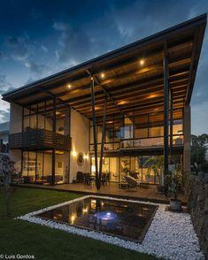 45 luxury modern house exterior design ideas – My Ideas Architecture Durable, Architecture Design, Dream Home Design, Modern House Design, Casa Loft, Luxury Homes Dream Houses, Dream House Exterior, House Goals, Home Fashion