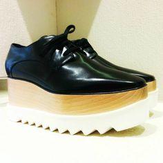 @stellamccartney Britt shoes #Stellasworld #britt #wedge #shoes #FolliFollie #FW14collection