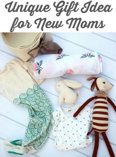 Unique gift idea for new moms. | gift ideas for new moms | baby shower gift ideas | gifts for baby shower | gifts for new moms | thoughtful ideas for new moms || Katie Did What