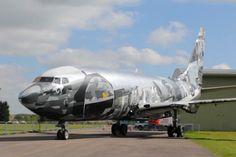 Spray painted Boeing