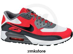 Nike Air Max 90 Lunar C3.0 White Black University Red