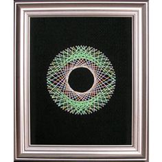 String Art Fun Free Circle Pattern 3