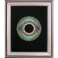 String Art Fun Free Circle Pattern 3