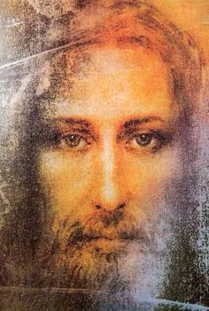 Depiction of Jesus from the shroud of Turin