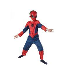 Regala este original disfraz de Spiderman Ultimate Classic. Se compone de mono y mascara.