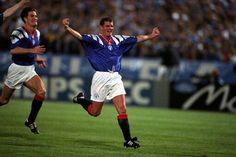 Ian durrant scores against marseille Rangers Football, Rangers Fc, Best Club, Great Team, Glasgow, Soccer, Hero, Running, Bar Ideas