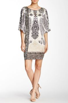 Printed Silk Blend Dress