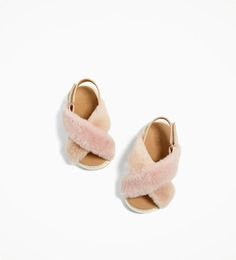 FAUX FUR SANDALS-NEW IN-BABY GIRL | 3 months - 4 years-KIDS | ZARA United States