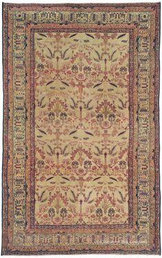 KERMANSHAH, Western Persian 6ft 7in x 10ft 7in 2nd Quarter, 19th Century