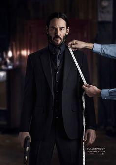 Keanu Reeves John Wick, Keanu Charles Reeves, John Wick Film, Next Leather Jacket, All Black Suit, Keanu Reeves Quotes, Macho Alfa, 3 Piece Suits, Hollywood Star
