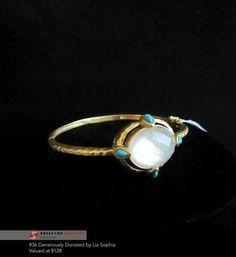 #36 Hellenic Bangle Bracelet  $128 - Lia Sophia