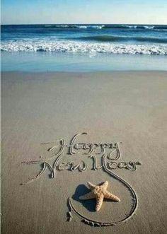 Beach New Years wishes!!! Bebe'!!! Happy New Year 2014!!!