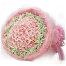 Pink Deluxe, Send Pink Flowers, Pink Roses Bouquet
