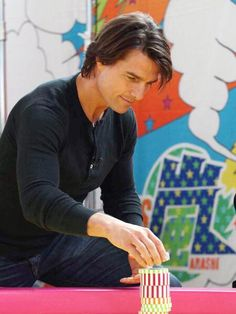 Crazy for Tom Cruise ( Katie Holmes, Tom Cruise Haircut, Nicole Kidman, Tom Cruise Hot, Ton Cruise, Portrait Photography Men, Mr Perfect, Hollywood Actor, Hollywood Stars