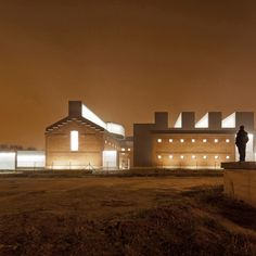 'cultural civic center' by EXIT architects, palencia, spain