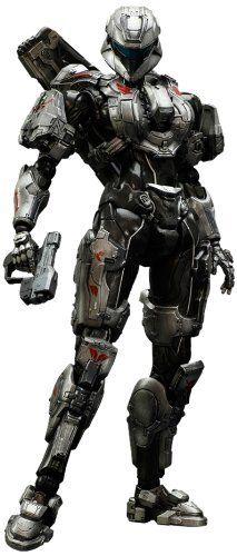 Amazon.com: Square-Enix Halo 4 Sarah Palmer Spartan Play Arts Kai Action Figure: Toys & Games
