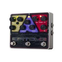 Electro-Harmonix Epitome Multi-Effects Pedal w/Micro Pog, Stereo Mistress & Holy Grail Plus