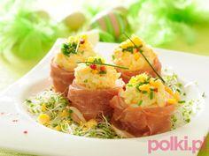 Jajka wielkanocne w szynce - przepis składniki i przygotowanie -Przepisy kulinarne - przepis