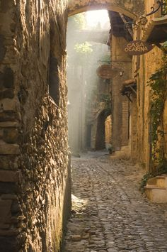 Bussana Vecchia, Liguria, Italy. Beautiful Light! Photo by  The St@lker