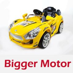 Hot Racer Wheels Kids Battery Power Ride on Car Mp3 & Rc Remote,upgraded, Bigger, Rechargeable 6v 10ah Battery and Powerful 6v Motor by ZH. $199.00. If you're a 2-4 year-old looking for a refined, yet high performance machine, then look no further than the Hot Racer series of ride ons. With it's upgraded 6V powertrain & battery pack, you'll do 0-2.5MPH in less than 3 seconds. It can be driven as a normal ride-on or for those drivers not yet ready, controlled by a parent...
