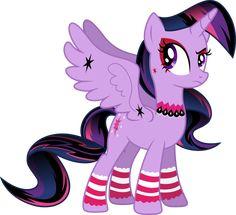 http://aurora-chiaro.deviantart.com/art/Gothic-Princess-Twilight-Sparkle-460827447