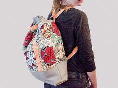 Tutorial DIY: Jak uszyć plecak - worek przez DaWanda.com