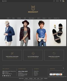 Midnight is clean and elegant Prestashop theme for multipurpose eCommerce website. It has 8 stunning homepage layouts and great features.