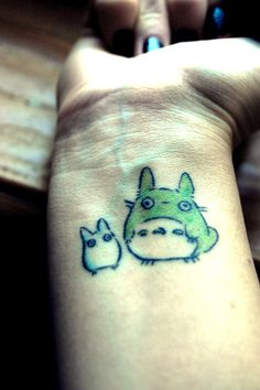 i have a totoro tattoo planned for myself :D