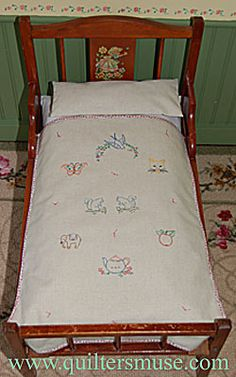 MINIATURE QUILTS FOR DOLLS