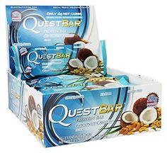 Quest Nutrition Protein Bars, Coconut Cashew, GreatValue Pack of 4 (56 Count Total) * You can find more details by visiting the image link.