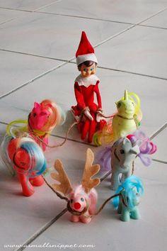 Little Housewife: Christmas - Elf on the Shelf Inspiration