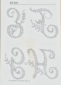 alphabets - Claire Grenouille - Álbumes web de Picasa Alphabet, Bobbin Lacemaking, Bobbin Lace Patterns, Leather Bound Books, Letter A Crafts, Craft Letters, Lace Heart, Parchment Craft, Point Lace