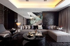 Excellent Luxurious Living Room Designs