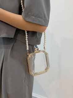 Make Mama proud and sport a strand of pearls on your game day bag. Your fashion sense will be the talk of the tailgate. #stadiumbags #clearstadiumbags #clearstadiumpurse #clearhandbags #southernliving Southern Fashion, Southern Style, Clear Handbags, Day Bag, Cute Bags, Football Season, Fashion Beauty, Crossbody Bag, Seasons